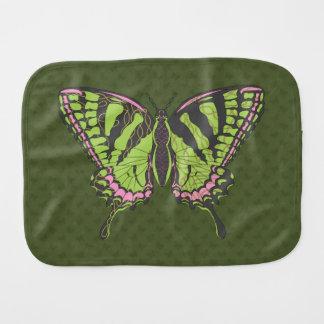 Celtic Swallowtail Burp Cloth