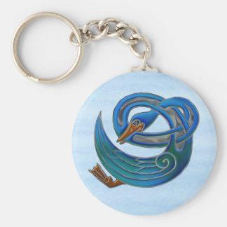 Celtic Swan Keychain