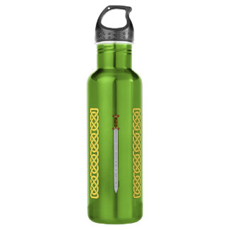 Celtic Sword and Knotwork 710 Ml Water Bottle