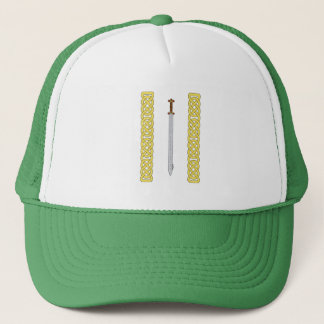Celtic Sword and Knotwork Trucker Hat