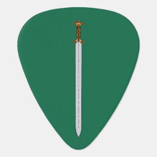 Celtic Sword Guitar Pick