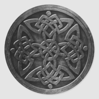 Celtic Symbol 3 Sticker,  3 inch (sheet of 6) Classic Round Sticker
