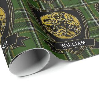 Celtic Symbol Irish Tartan