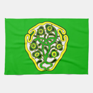Celtic symbol kitchen towel