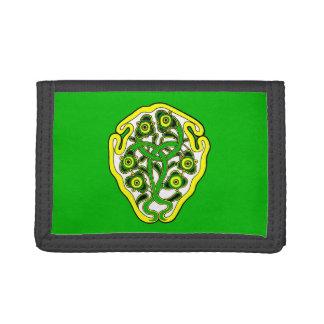 Celtic symbol tri-fold wallet