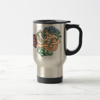 Celtic Symbols Travel Mug