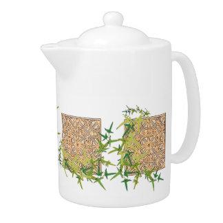Celtic Themed TeaPot