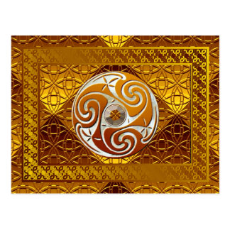 """Celtic Treasure"" Art Postcard"