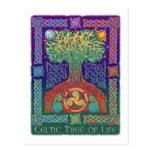 Celtic Tree of LIfe Postcards