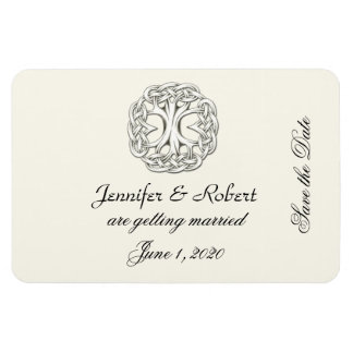 Celtic Tree of Life Save the Date Magnet
