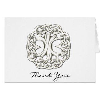Celtic Tree of Life Thank You Card