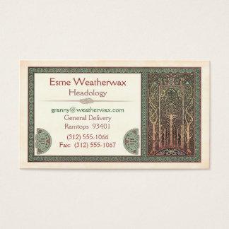 Celtic Trees Design Business Cards
