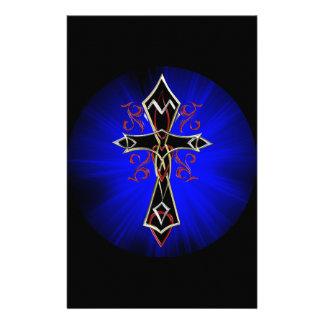 Celtic Tribal Cross Stationery