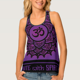Celtic Tribal Crown Chakra Tank Top