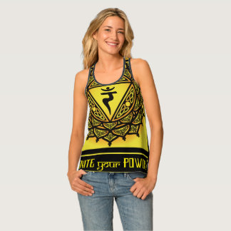 Celtic Tribal Solar Plexus Chakra Tank Top