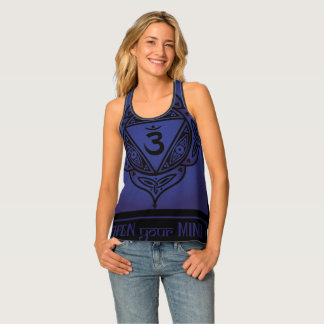 Celtic Tribal Third Eye Chakra Tank Top