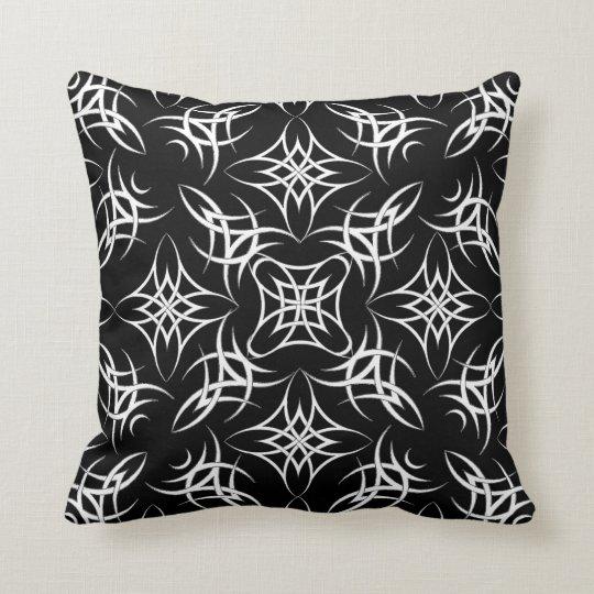 Celtic Tribal Throw Pillow