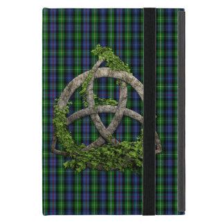 Celtic Trinity Knot And Clan MacKenzie Tartan iPad Mini Covers