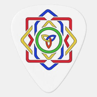 Celtic Trinity Knot Guitar Pick