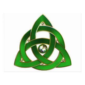 Celtic Trinity Knot Postcard