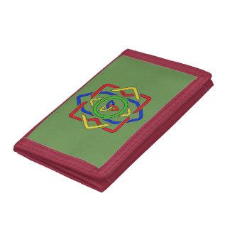 Celtic Trinity Knot Tri-fold Wallet