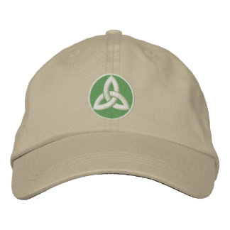Celtic Trinity Knot Up Embroidered Hat