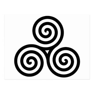 Celtic Triquetra Knot II Postcard
