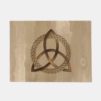 Celtic Triquetra Trinity Knot Doormat