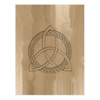 Celtic Triquetra Trinity Knot Postcard