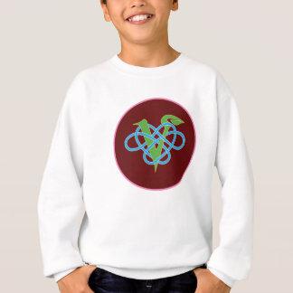 Celtic Vegan Polyamory Circle Sweatshirt