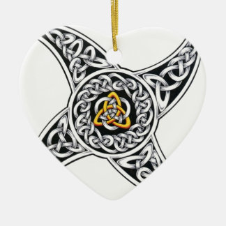 celtic-warriors symbol ceramic ornament