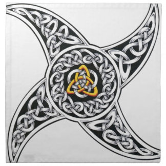 celtic-warriors symbol napkin