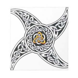 celtic-warriors symbol notepad