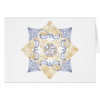 Celtic Wedding Knot - Blank Card (Thank You)