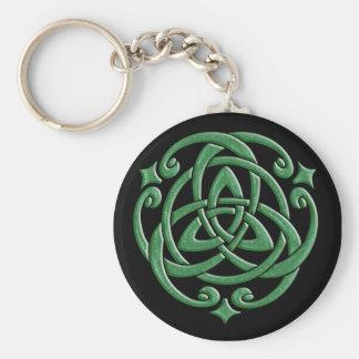 Celtic Wedding Knot Keychain