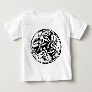 Celtic Wolf Baby T-Shirt