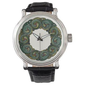 Celtic Wreath Wrist Watches