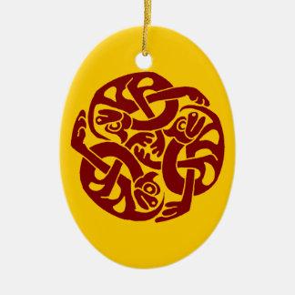 Celtic Yule Ornament