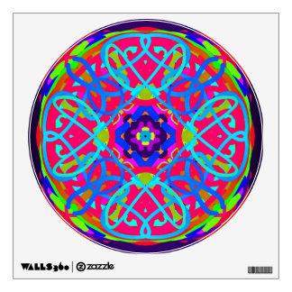 Celtica Mandala Colorful Wall Decal