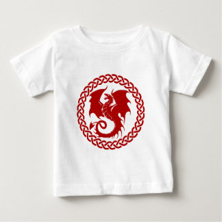 celticCircleRedDragon Baby T-Shirt