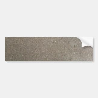 cement ( grey or gray colored concrete ) bumper sticker