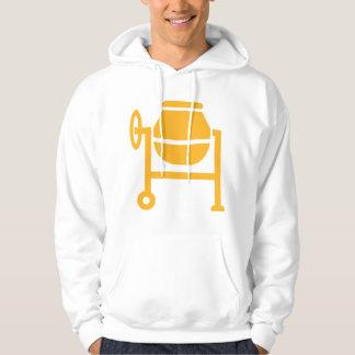 Cement mixer hoodie