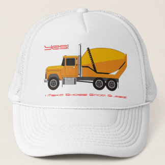 Cement Shoes Trucker Hat