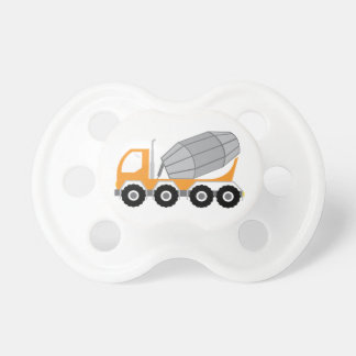 Cement Truck Pacifiers