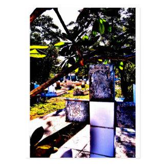 Cemetary in St. Maarten Postcard