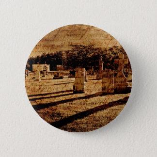 Cemetery 2 Inch Round Button