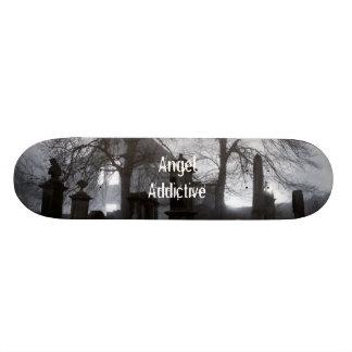 Cemetery By AngelAddictive Skate Board Decks