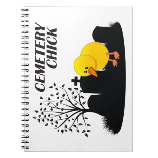 Cemetery Chick Notebook