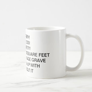 cemetery grave coffee cup