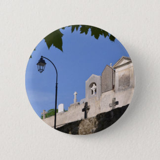 Cemetery in Menton 2 Inch Round Button